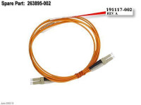 Кабель HP 2M SW LC/LC FC Multi-mode Cable-191117-002(new)