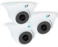IP-камера Ubiquiti UVC-Dome provides 720p HD resolution at 30 FPS (комплект 3шт)