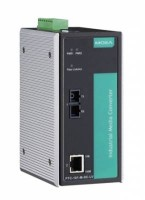 Конвертер PTC-101-S-SC-HV 10/100BaseT(X) to 100BaseFX converter, single-mode, SC, 1 isolated power (88-300 VDC or 85-264 VAC)