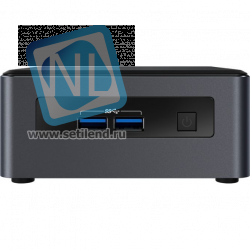 "Платформа Intel NUC kit, Core i7-8559U,2x DDR4 1.2V SODIMM,NVMe/SATA M.2 SSD+2.5"" SATA SSD/HDD,Intel 4K Iris 655,SDXC slot,7.1 Audio via HDMI/DP+Combo Jack+Dual Mic on FP,(2+2)xUSB 3.1, 1xLAN GbE, IR FP,WiFi 9560 AC+Bluetooth v5,VESA mount,"