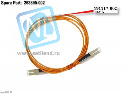 Кабель HP 263895-002 2M SW LC/LC FC Multi-mode Cable-263895-002(NEW)