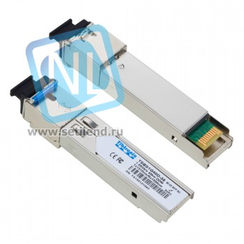 Модуль SFP WDM, дальность до 40 км (22dB), 1310нм (NTL) 1.25Gb/s 40Km SC BiDi SFP Transceiver Hot Pluggable, Single SC, +3.3V, 1310nm Tx/1550nm Rx, DFB-LD, Single-mode, DDM