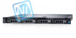 Сервер 1U Dell PowerEdge R330, 1 процессор E3-1220v6, 8GB DRAM