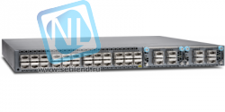 Коммутатор Juniper QFX5100, 48 SFP+/SFP ports, 6 QSFP+ ports, redundant fans, 2 AC power supplies, back to front airflow