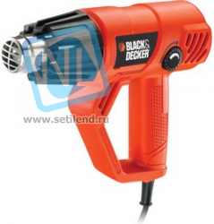 Фен BLACK & DECKER KX2001-QS 2000Вт 50-600°C 300-650л/мин