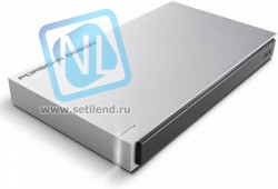 "STET1000400, Внешний жесткий диск LaCie STET1000400 1TB Porsche Design Mobile Drive 2.5"" P'922 USB 3.0 light-gre"